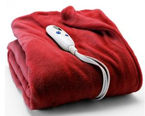 Heated Electric Throw Blanket, Under $26 at Kohl's!