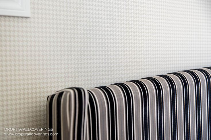 Drop Wallcoverings, Calgary & Kelowna Wallpaper Installer, Paperhanger, Wallcoverings ---- Featured Product: York Wallcoverings, Ronald Redding Collection. Tyler ( ML1233). Subtle Houndstooth Wallpaper.