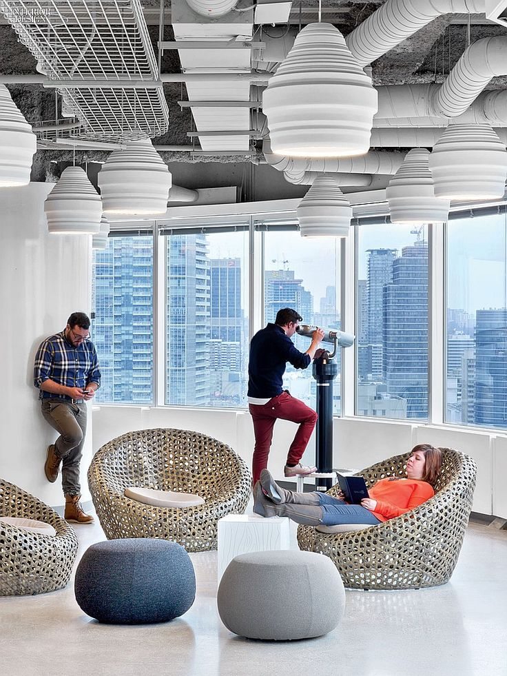 Connections Are Multiplying: Toronto Among Five IA-Designed LinkedIn Projects | Projects | Interior Design