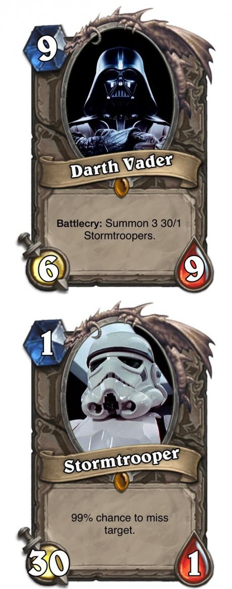 LOL Any Hearthstone and Star Wars fans?