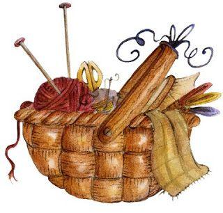 Muchos dibujos coloreados de cestos de costura para imprimir , cestos con cajas de costura con diseños country, de tela de madera....     Ce...