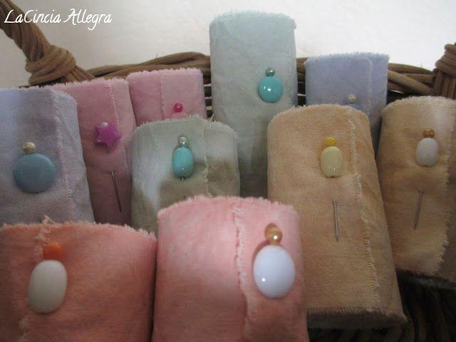 La Cincia Allegra: cotone vintage