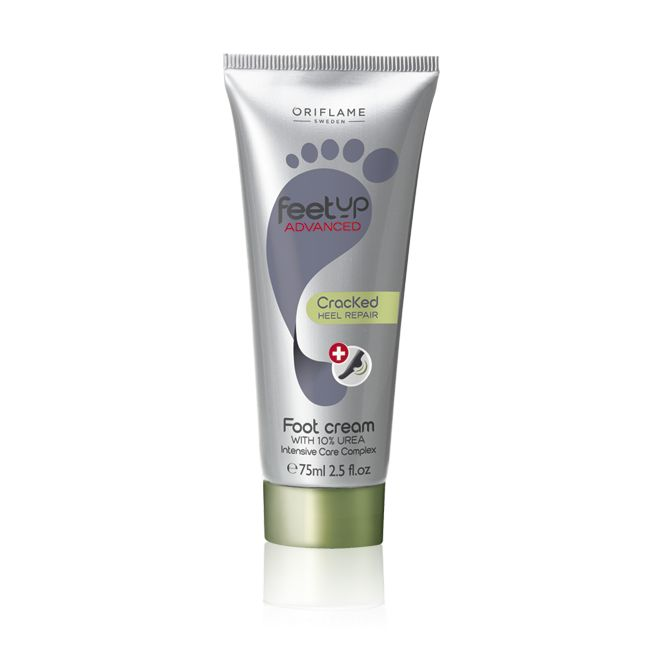 Feet Up Advanced Cracked Heel Repair Foot Cream is what you need to get your feet ready for sandal season. :)