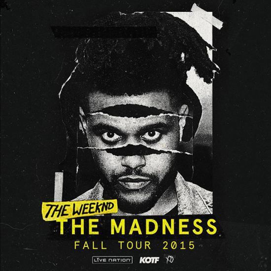 "The Weeknd Announces ""The Madness"" Tour Dates w/ Travi$ Scott & Banks"