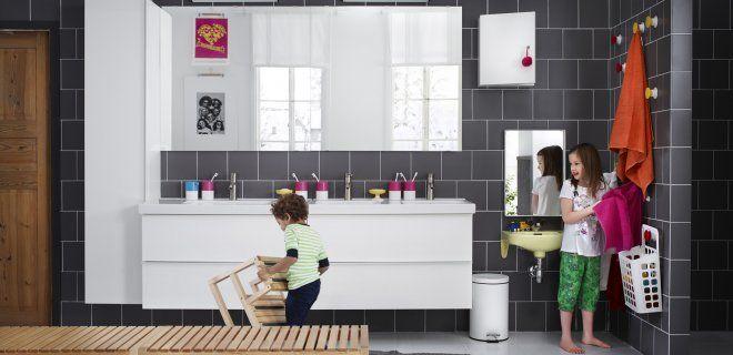 De badkamermeubels van IKEA kunnen nu ook worden geïnstalleerd door de Badkamer Installatieservice van #IKEA