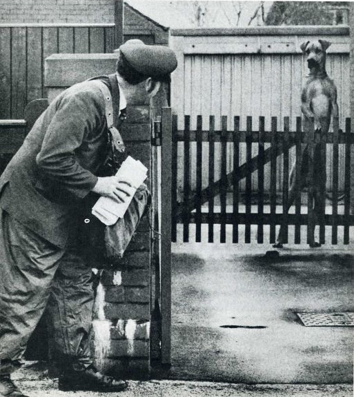 No postmen - no funny stories blast-from-the-past