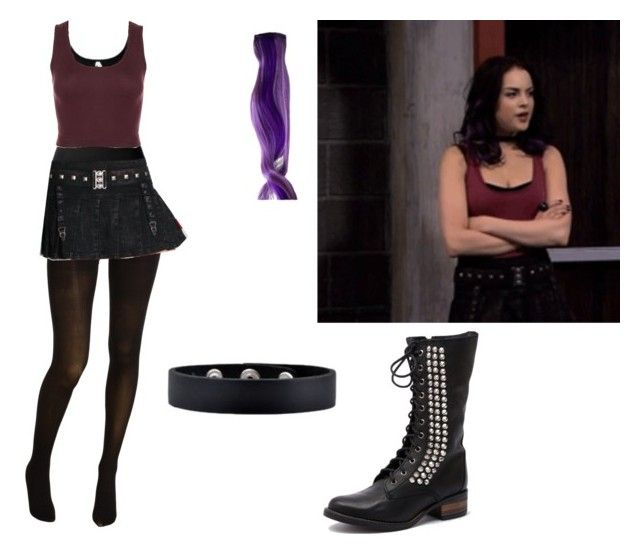 """Jade West- Nickelodeon's Victorious- Robbie Sells Rex"" by brainyxbat ❤ liked on Polyvore"