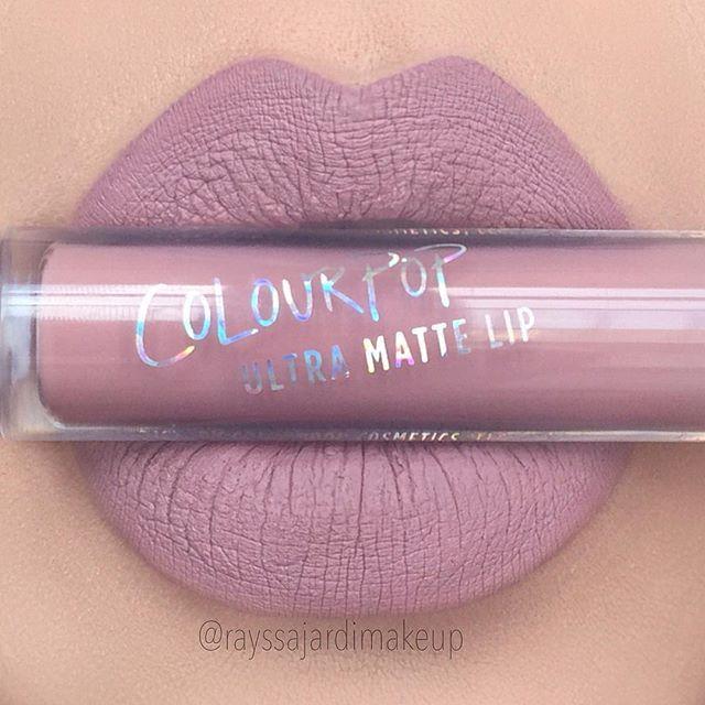 Ultra Matte Lip @colourpopcosmetics Trap