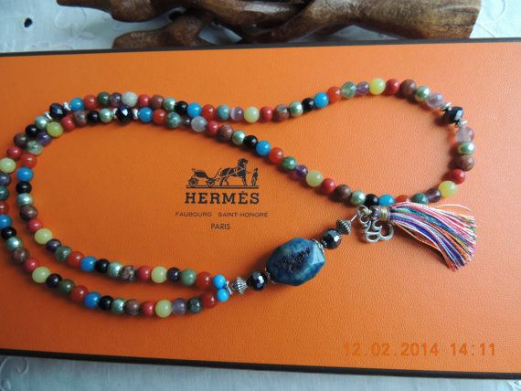 Seven Chakra mala / Prayer beads Mala / 108 bead by BeHappyJewelry