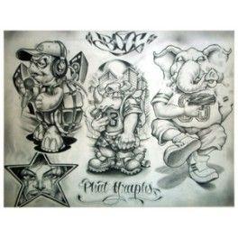 Boog Tattoo Desing Flash 3  Anny Imagenes