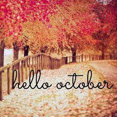 !Bienvenido Octubre! Comenzaron los meses chulos que nos acercan al fin de año   #holaoctubre #welcome #happiness #ohlala #byou #becomplete