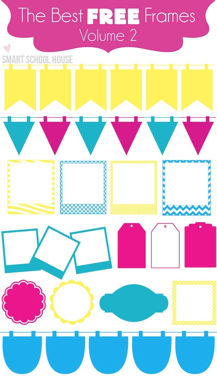 The best new font to download! Free Frames! They can be found www.smartschoolhouse.com #fonts