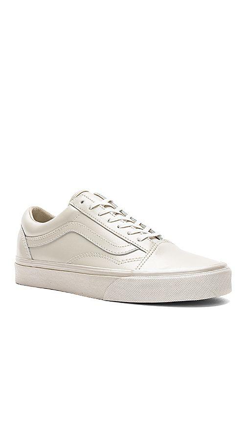 4d11cbf36c Vans Metallic Sidewall Old Skool Sneaker in Cement