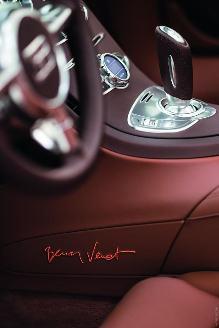 ♂ car red interior 2012 Bugatti Veyron Grand Sport Venet