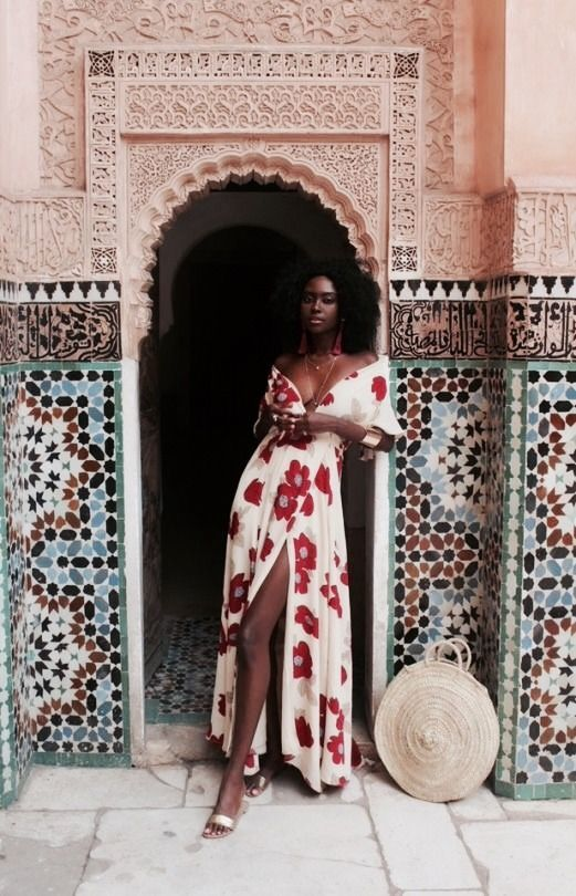 resort wear + print + maxi + affiliate | Julie de la Playa