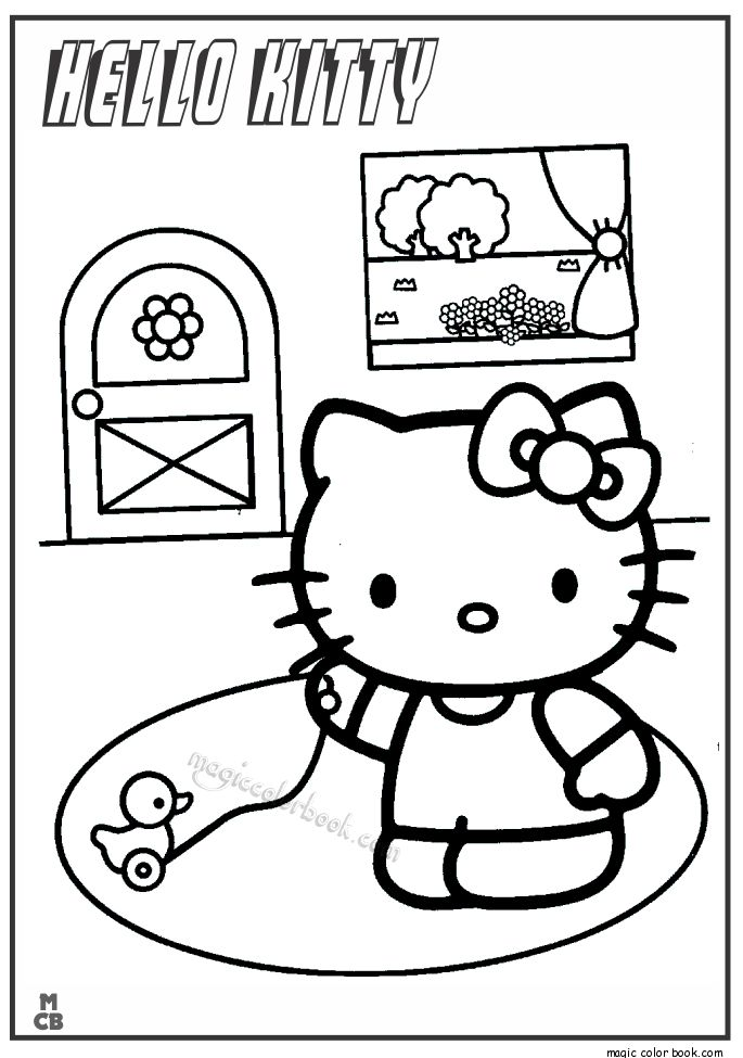 33 best Hello Kitty Coloring pages free online images on Pinterest - new coloring pages with hello kitty