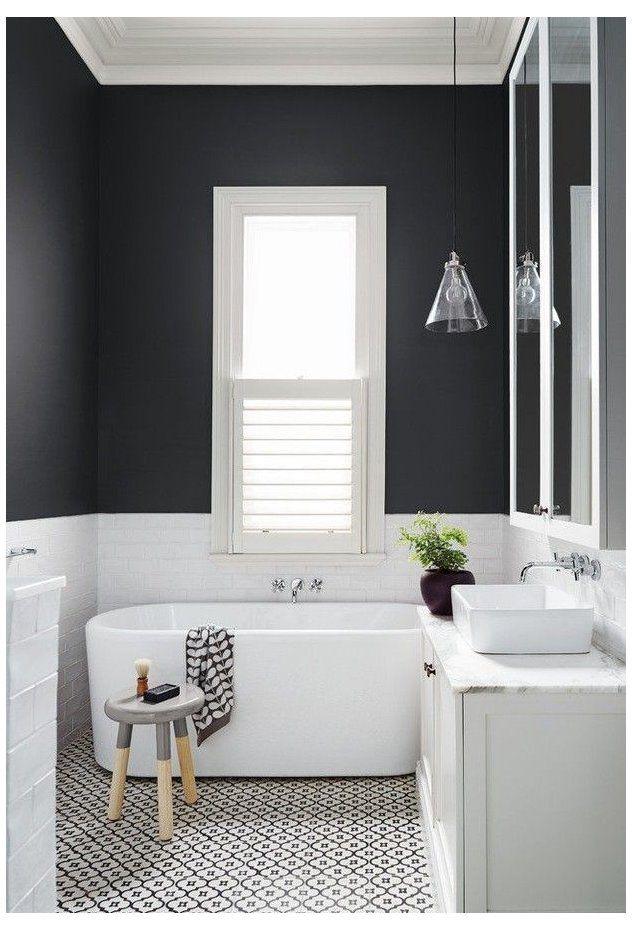 Amazing Different Bathroom Patterned Floor Tile Ideas Patterned Bathroom Floor Tiles Ar In 2020 White Bathroom Designs Bathroom Interior Design Small Bathroom Makeover