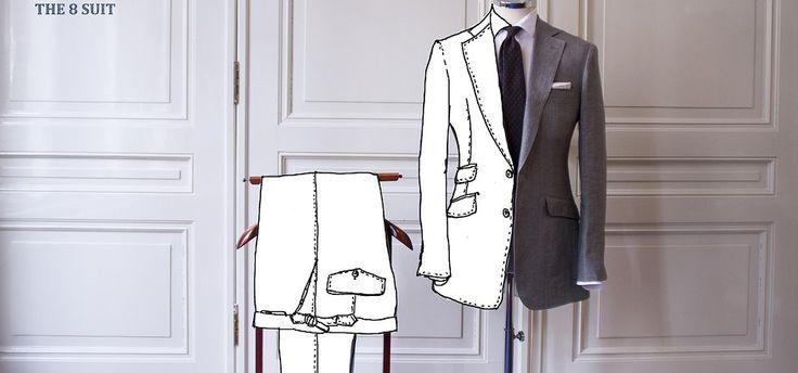 Wanneer je een pak koopt: wat is het verschil in Italiaanse of Britse stijl?