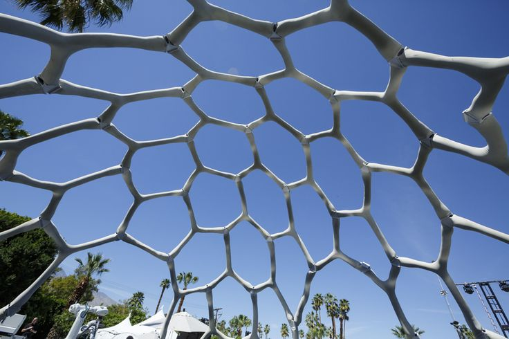 Amazon MARS Pavilion in Palm Springs by Form Found Design