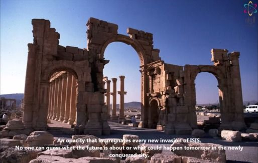 """Archinect News-- In an apparent video message, ISIS forces occupying the ancient city of Palmyra and its environs have stated that they do not intend to bulldoze its architecture, but plan to """"pulverize"""" unspecified statues that they believe have been worshipped by """"heretics"""" in the past..."""