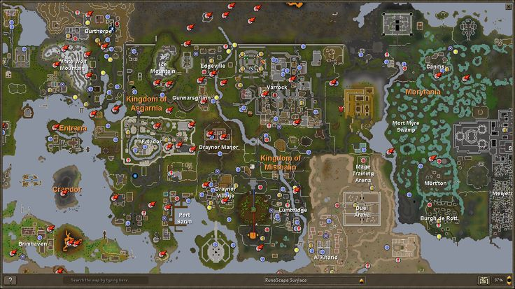 runescape dungeon - Google Search Water Poster References - new osrs world map in game