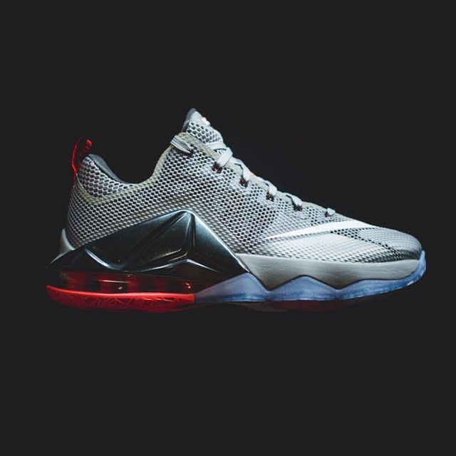 59595cb3a285e9 ... store nike lebron 12 low wolf grey 175 sizes 8 13 available a649c 5a211