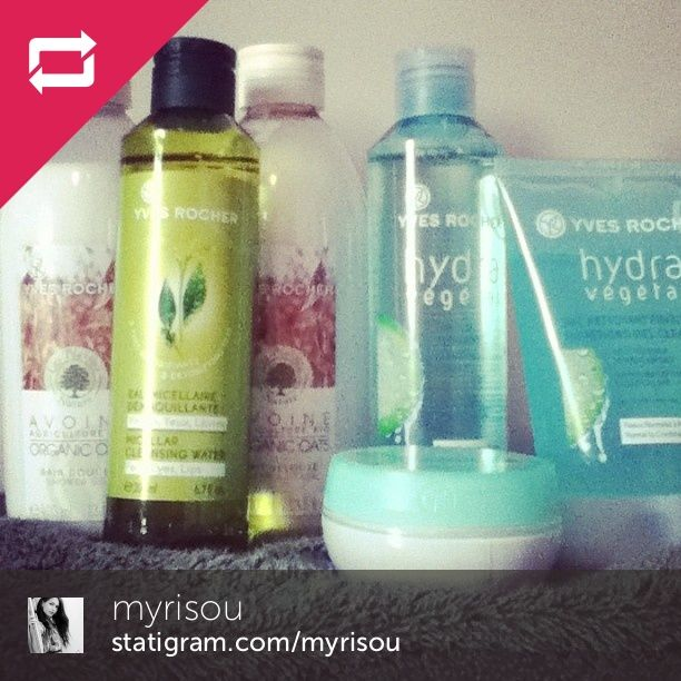 Myrisou shared her Yves Rocher Collection! Myrisou a partagé sa collection avec nous sur Instagram! #yvesrochercanada #yvesrocherfan