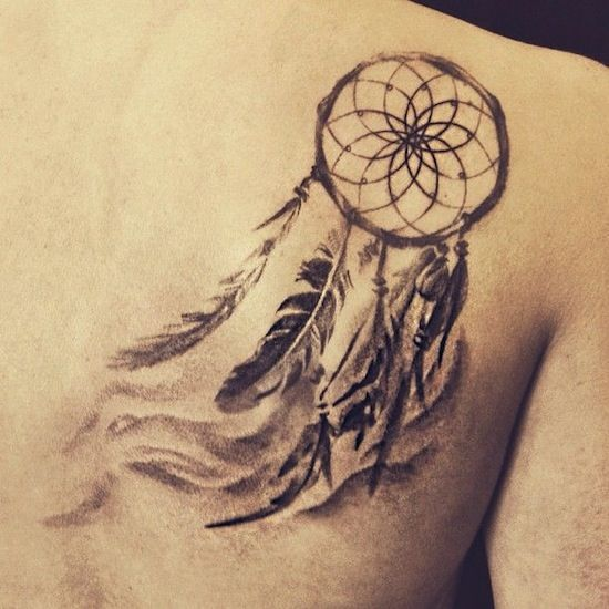 Dreamcatcher tattoos for men ideas and inspirations for for Male dreamcatcher tattoo