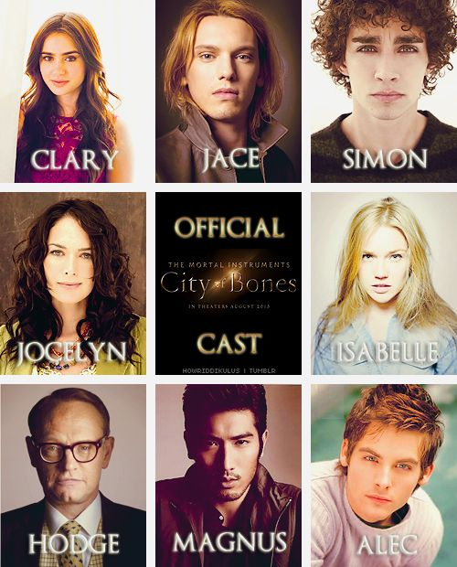 city of ashes characters - photo #10
