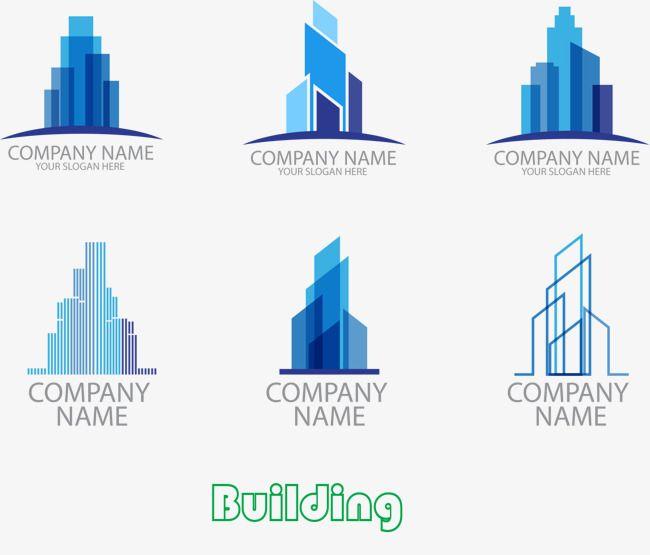 6 Stylish Building Logo Design Free Logo Design Template Fashion