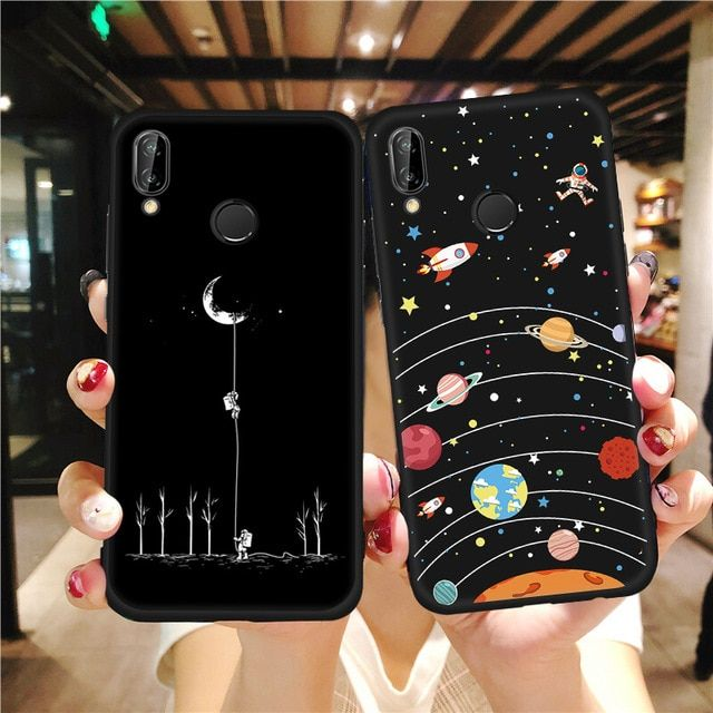 Mobile Phone Accessories Silicone Protective Case Pattern Cover For