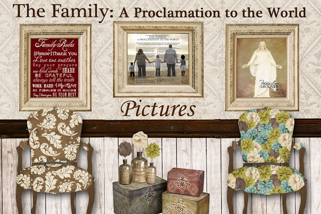 Free LDS printables.  Really cute