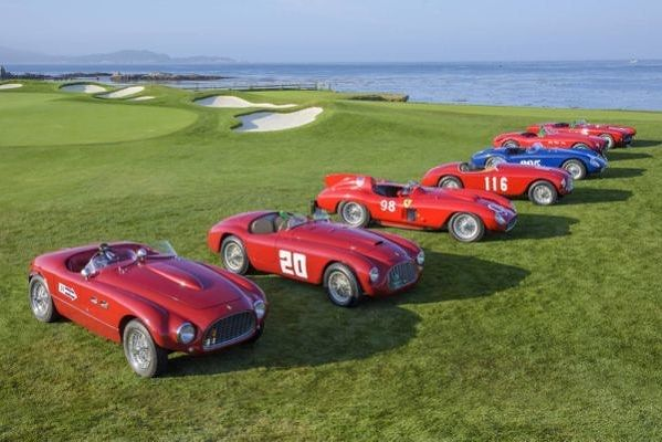 Pebble Beach isnt just for golf! . . . . #automotive #golfing #car #speed #pgatour #auto #luxury #ferrari #shift #driver #mechanics #supercar #hypercar #muscle #tuner #titleist #callaway #golf  COURSE&TRACK