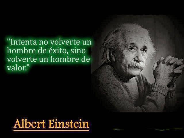 Frases célebres. Albert Einstein.