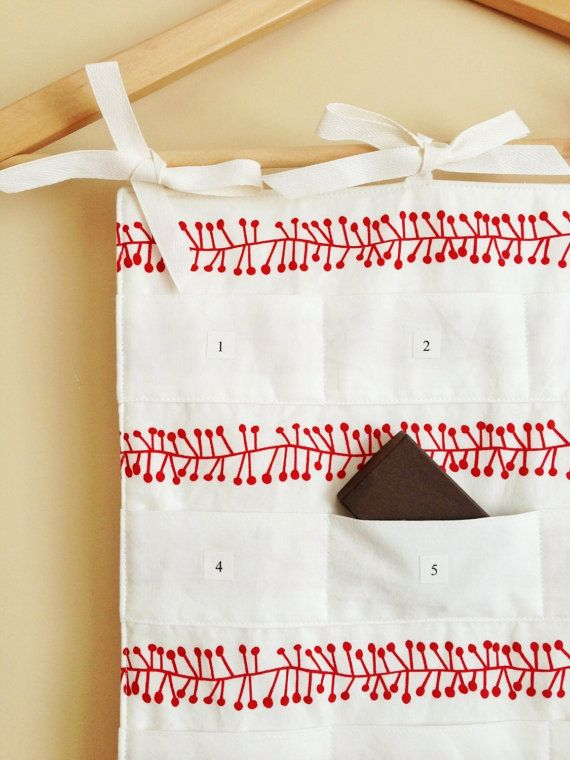 Scandinavian Advent Calendar Scandi Christmas by GoodWishesQuilts