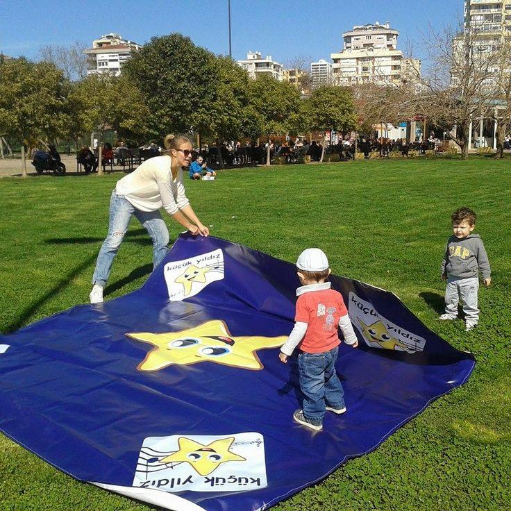 küçük yıldız bebek oyun atölyesi: Caddebostan sahili, Oyuna Hazırlanırken