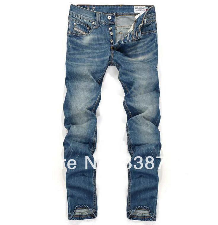 Top Quality,Designer Jeans Men Fashion Famous Brand,2013 Newly Arrival Slim Straight Cotton Denim Trousers Jeans Man Light Blue $34.98