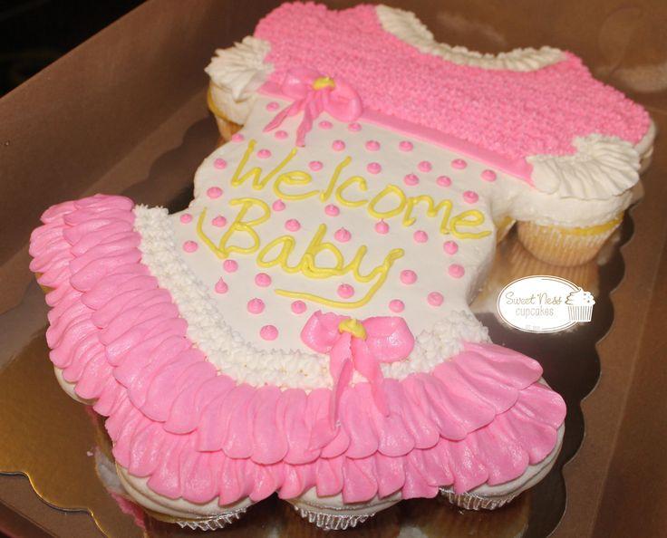 Baby Girl Cupcake Cake! cupcakesbyvanessa.com