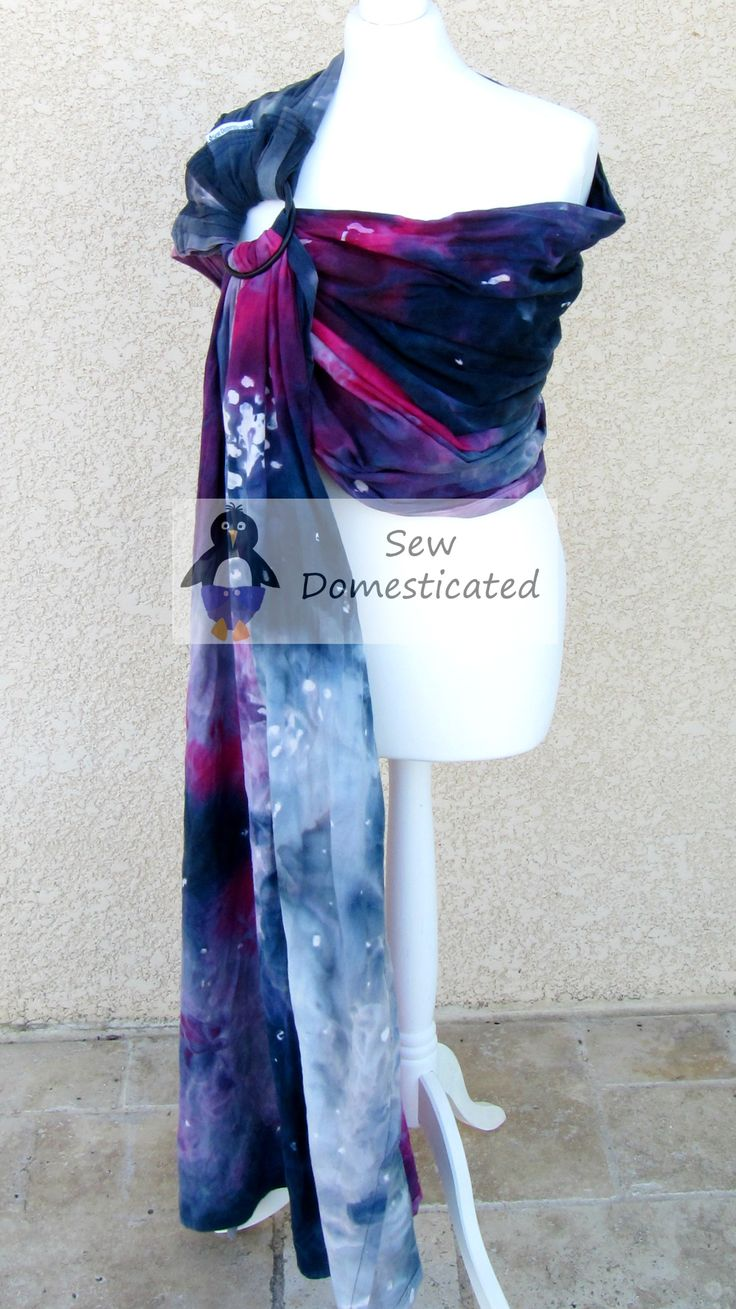 Hand Dyed Galaxy Ring Sling