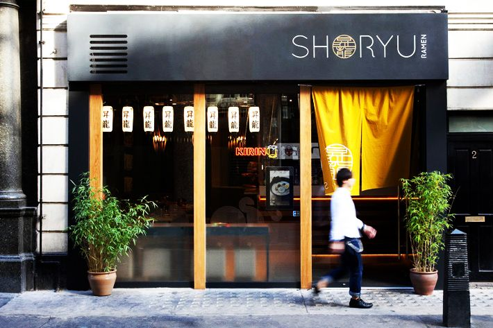 Shoryu Ramen - Piccadilly Circus, London designed by SAY Architects Ltd 2013