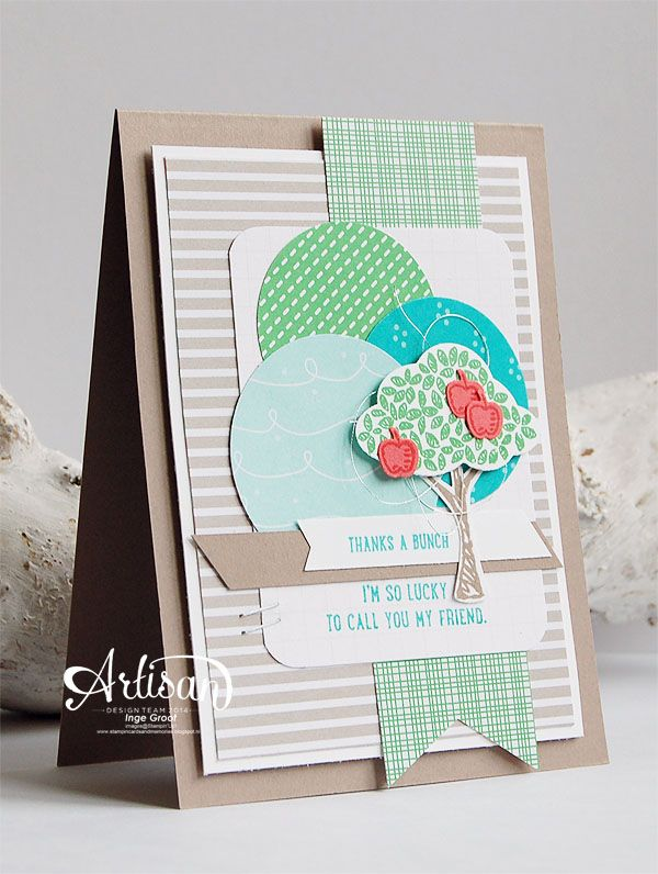 Sprinkles of Love, Cherry On Top DSP,Tree Builder Punch Banner Triple Punch, Circle Punches - Inge Groot-