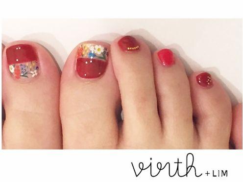 foot nail | 桑原里佳 | 27 JUN. 2015 | LIM | LESS IS MORE