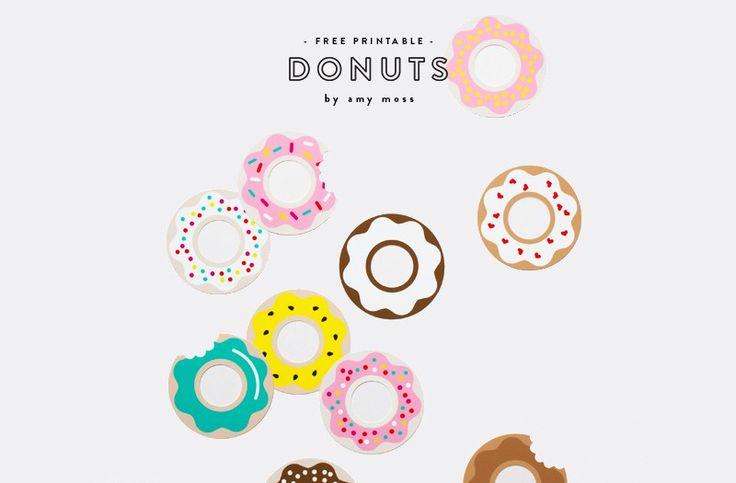 voici un memory d vorer on imprime la planche de donuts. Black Bedroom Furniture Sets. Home Design Ideas