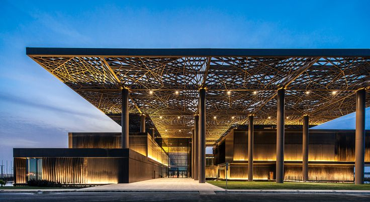 Centro Internacional de Congressos em Dakar - Attitude Interior Design Magazine
