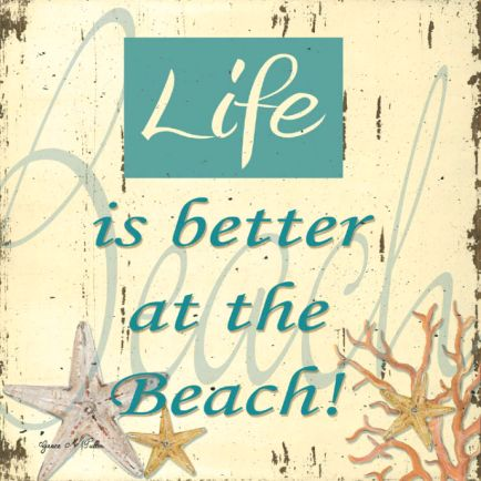 Beach Quotes And Sayings | ... Beach Decor | Nautical Decor | Seashell Decor: Beach & Ocean Quotes