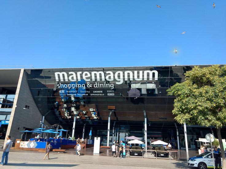 Maremagnum Shopping Center in Barcelona