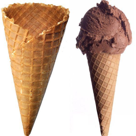 Cialde per gelato fatte in casa