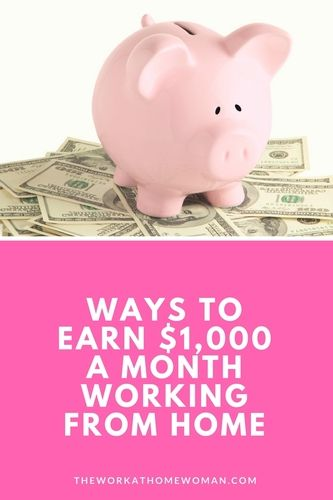 How To Make 1 000 A Month Working From Home
