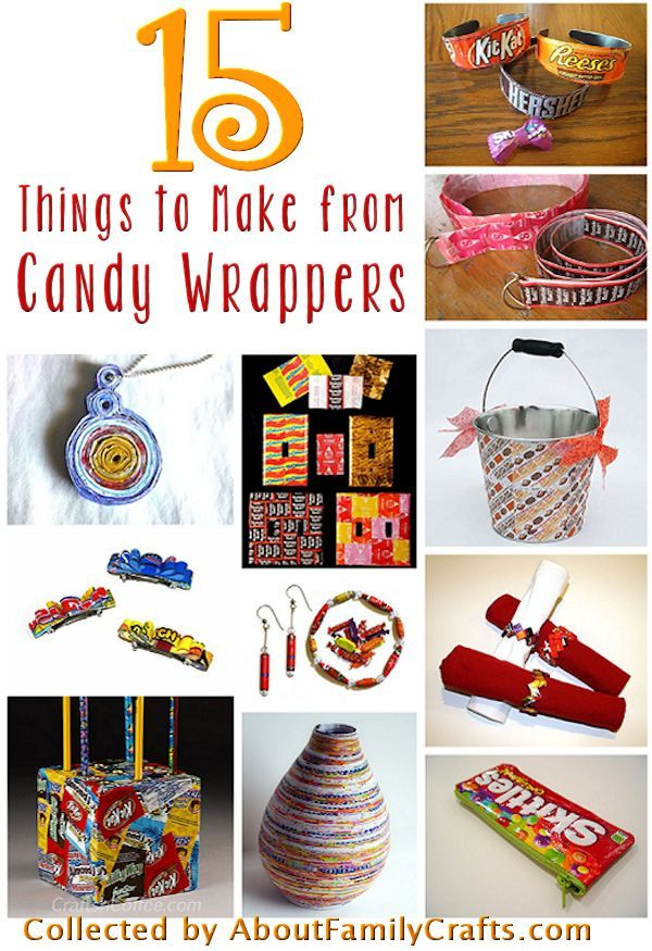 how to make a candy wrapper purse instructions