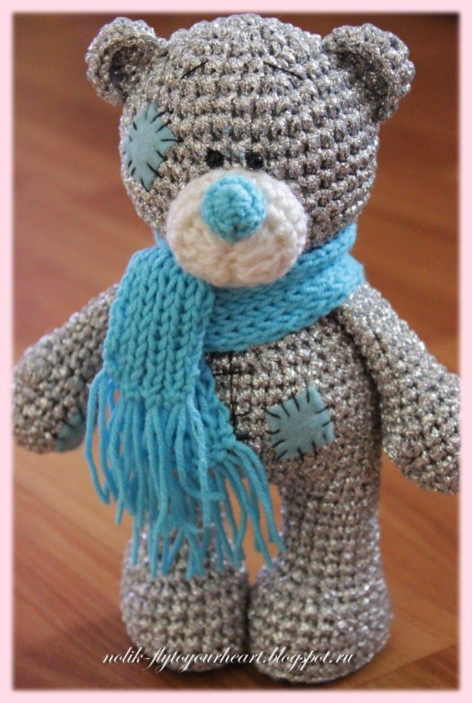 Crochet Teddy Bear : Teddy, Teddy Bears, Amigurumis, Crochet Bear Pattern, Crochet Bears ...